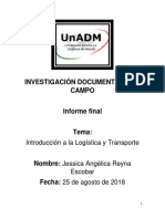 Integracion y Redaccion de Informe Final