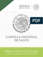 Cartilla Nacional de Niños 0 a 9