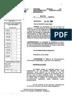 Resolución Exenta Gendarmería