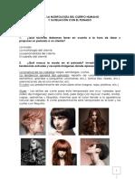 Ut1. La Morfología Del Cuerpo Humano y Su Relación Con El Peinado
