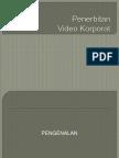penerbitan video korporat