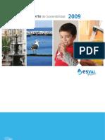 Reporte Esval 2009