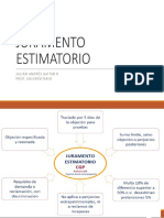 JURAMENTO ESTIMATORIO