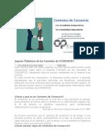 Aspecto Tributario de los Contratos de CONSORCIO 2018.docx