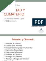 12. Pubertad y Climaterio_Dra. Ramirez