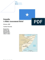 Somalia Piracy Risk Assessment