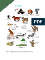 Aula 32 Animales - Os Animais