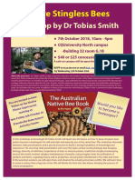 Toby Smith Bee Seminar 2018 Flyer -Final