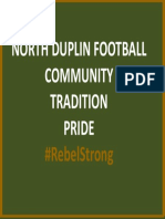 NDHS Football