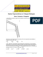 Trigonometria No Triangulo Retangulo Sen Cos Tg