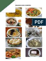 Makanan Khas Sumatra