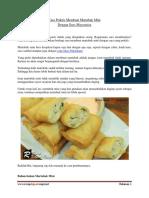 Cara Praktis Membuat Martabak Mini Dengan Saos Mayonaise
