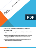 Sensory Processing Powerpoint