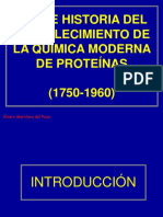 Clase Historia Protein as Web