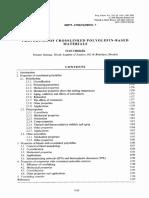 Properties of Crossliked PE