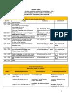 Jadwal Acara WS SNARS Edisi 1 - PERSI Jateng, 28-29 Juni 2018