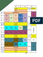2A Schedule