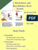 Slide Kuliah Elektrolit Water Kidney Regulation - Dr. Iin Novita