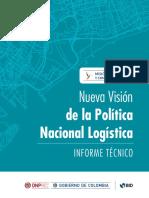 Nueva Visión de La Política Nacional Logística - Informe Técnico - DNP