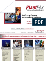 PlantPAx EXTERNAL Presentation