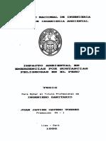 Impacto ambiental en emergencia por sustancias peligrosas en el Perú.pdf