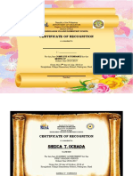 CERTIFICATE of Complete Attendance