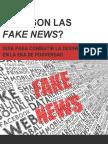 Qué son las fake news?. Guía para combatir la desinformación en la era de posverdad