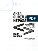 Arta subtila a nepasarii - Mark Manson.pdf