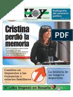 Cristina Kirchner perdió la memoria