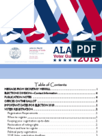 Alabama 2018 Voter Guide