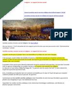 07-08-2018-Sociétés Secrètes, Services Secrets Et Religions- Le Rapport de Force Actuel