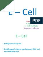 E – Cell