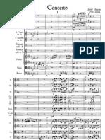 Haydn Trumpet Concerto Full Score