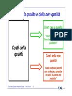I Costi Della Qualità e Della Non Qualità 05-02-07 [Modalità Compatibilità]