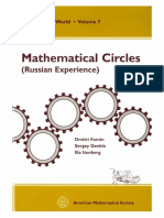 (Mathematical World 7) D. Fomin, S. Genkin, I. Itenberg-Mathematical Circles (Russian Experience)-American Mathematical Society (1996).pdf