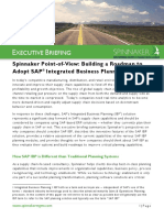 Building a Roadmap to Adopt SAP Integrated Business Planning (IBP)