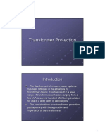 TRANSFORMER PROTECTION A