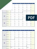 Jadwal Calendar