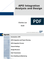 Apo Integration Analysis Design