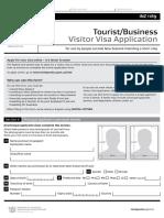 Visa form inz1189.pdf