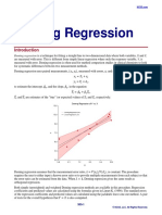 Deming Regression