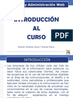Gestion y Administracion Web - Introduccion