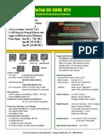 InTek UC-504G RTU Datasheet.pdf