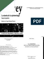 La Miseria de La Epistemología