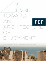 Henri Lefebvre-Toward an Architecture of Enjoyment-Univ of Minnesota Press (2014)