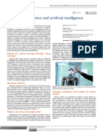 18. Editorial on Robotics and Artificial Intelligence