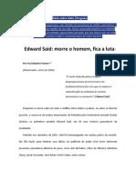 Homenagem Edward Said