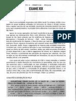 FGV - 2016 - OAB - Exame de Ordem Unificado - XIX - Segunda Fase - Direito Tributário Gabarito