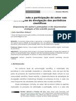 Empoderando a participação do autor nas estratégias de divulgação dos periódicos científicos