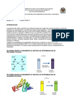 Practica 2 ProteinaTotales y Albumina Reporte